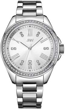 JBW Capri Silver Dial Diamond Ladies Watch