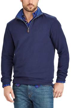 Chaps Men's Classic-Fit Quarter-Zip Pullover Sweater