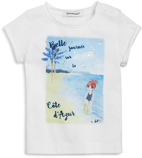 3 Pommes Boys' Beach Graphic Tee - Baby
