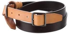 Dries Van Noten Knot-Accented Leather Belt