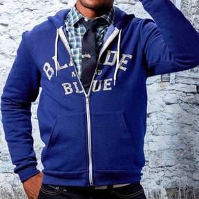 Blade + Blue Blue Marled Hoodie