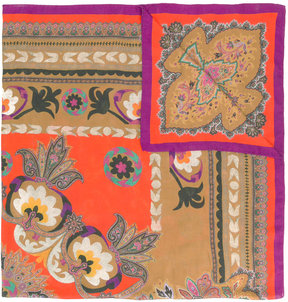 Etro floral paisley printed scarf
