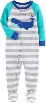 Carter's Baby Boys Stripe Whale Sleep & Play