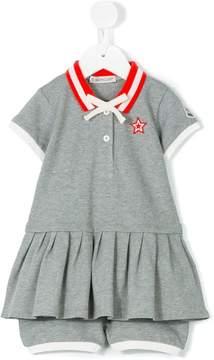 Moncler polo dress set