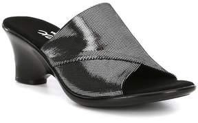 Onex Norah Metallic Leather Slip-On Sandals