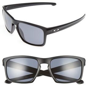 Oakley Men's Sliver H2O 57Mm Sunglasses - Black