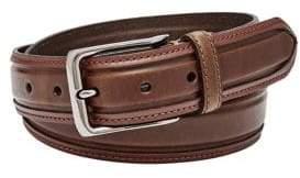 Fossil Wyatt Leather Belt