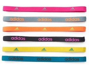 Adidas Women's Adidas Fighter 6-pk. Solid Headband Set