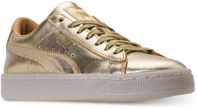 Puma Big Girls' Suede Casual Sneakers from Finish Line