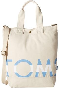 Toms Logo Tote Tote Handbags