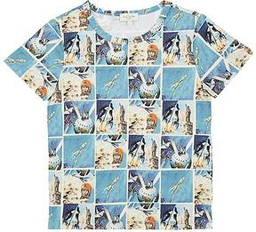 Paul Smith Kids' Rocket-Print Cotton T-Shirt