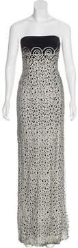 Akris Strapless Evening Dress w/ Tags