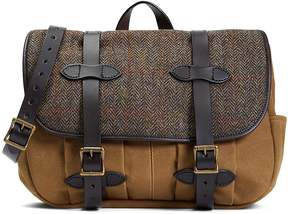 Brooks Brothers Exclusive Filson® Fabric and Leather Messenger Bag
