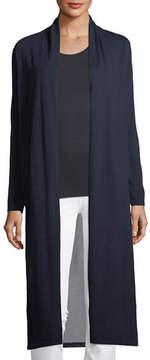 Neiman Marcus Superfine Viscose-Back Cashmere Duster