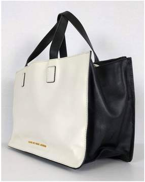 Marc by Marc Jacobs Black & Cream Tote Bag