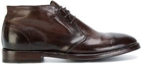 Alberto Fasciani polished lace-up shoes