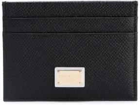 Dolce & Gabbana logo cardholder - BLACK - STYLE