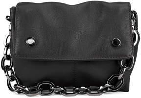 Kooba Black Dante Mini Leather Crossbody Bag