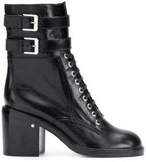 Laurence Dacade buckle and lace-up boots