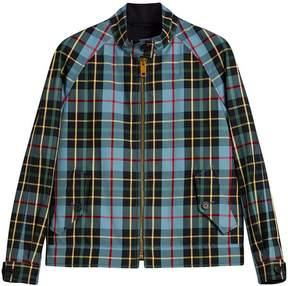Burberry Tartan Cotton Gabardine Jacket
