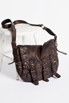Glade Leather Messenger by Free People