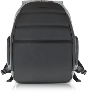 Giorgio Fedon 1919 Ninja Black Coated Jersey Backpack w/13 Laptop Compartment