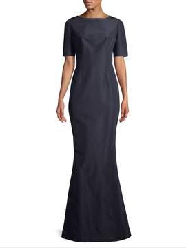 Carolina Herrera Women's Gathered Silk Gown