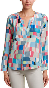 Ecru Silk Shirt