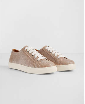 Express metallic sneakers