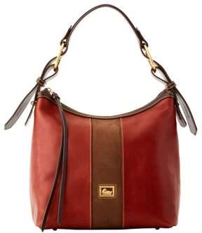 Dooney & Bourke Florentine Suede Maya Hobo Shoulder Bag