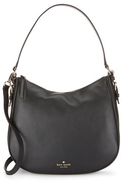 Kate Spade Cobble Hill Collection Mylie Hobo Bag - BLACK - STYLE