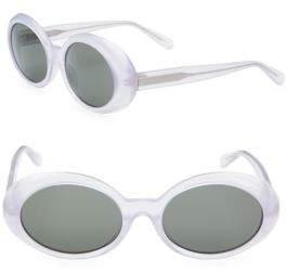 Saint Laurent 53MM Round Sunglasses