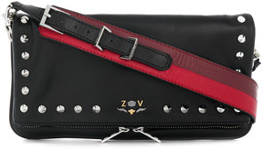 Zadig & Voltaire Rock studded clutch bag