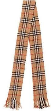 Burberry Merino Wool Nova Check Scarf