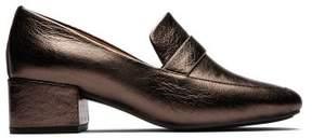 Kenneth Cole New York Gentle Souls By Kenneth Cole Eliott Bit Strap Metallic Leather Loafer - Women's