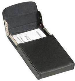 Royce Leather Unisex Vertical Framed Card Case 423-5.