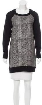 AR+ AR Wool Metallic-Accented Sweater w/ Tags