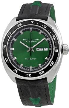 Hamilton American Classic Pan Europ Automatic Green Dial Men's Watch