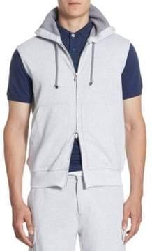 Brunello Cucinelli Two-Way Zip Vest
