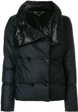 Diesel double breasted padded jacket