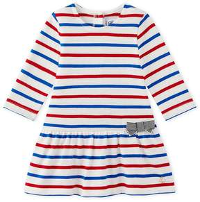 Petit Bateau Baby girl's striped dress