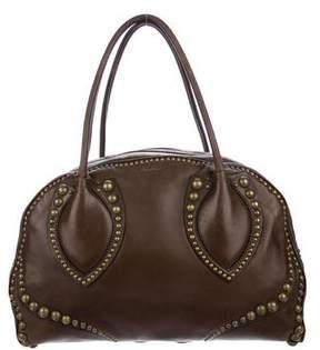 Alaia Studded Leather Shoulder Bag