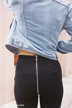 BDG Kick Flare High-Rise Cropped Jean – Zipper Back