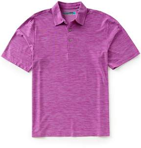 Roundtree & Yorke Performance Short-Sleeve Space-Dyed Polo