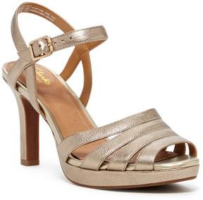 Clarks Mayra Poppy Strappy Heel Sandal