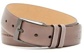 Mezlan Brogued Leather Belt