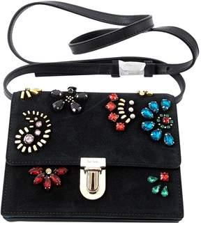 Paul Smith Black Suede Handbag