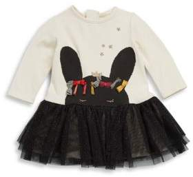 Catimini Baby's Rabbit Print Dress