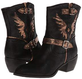 Roper Metallic Wing Ankle Boot