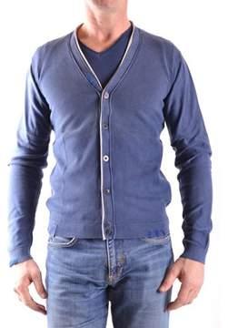 Fred Mello Men's Blue Cotton Cardigan.